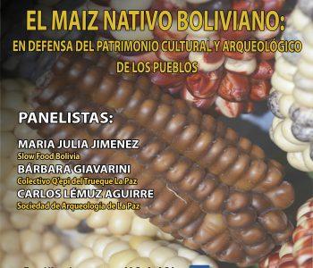 Conversatorio sobre el maíz prehispánico - SALP